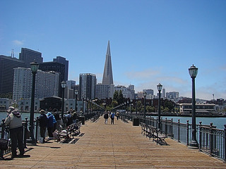 070 Skyline vanaf lange pier