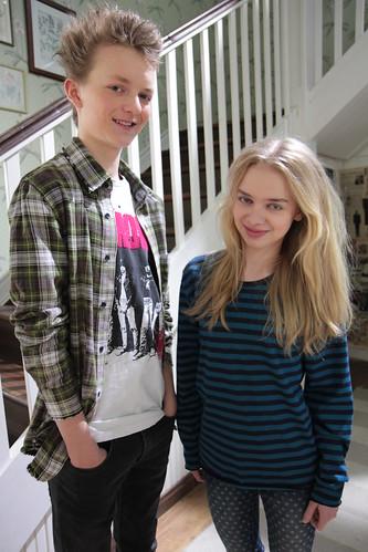 Osku ja Maria | kuva: YLE - Anu Köyhäjoki-Järvinen | Uusi Päivä | Flickr