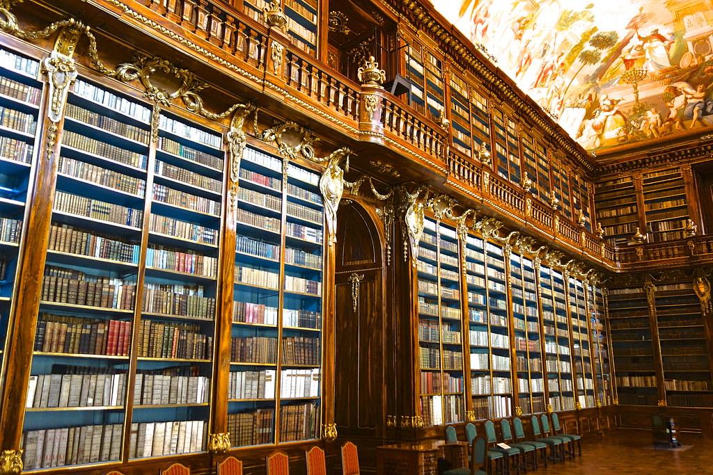 EXETER INTL PRAGUE Czech Republic Stahov Library