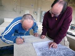 """Un """"quadratarius"""" en el siglo XXI: el proceso material de una inscripción romana"""