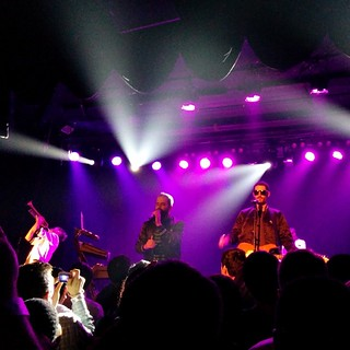 It's @capitalcities at @theroxy | by krynsky