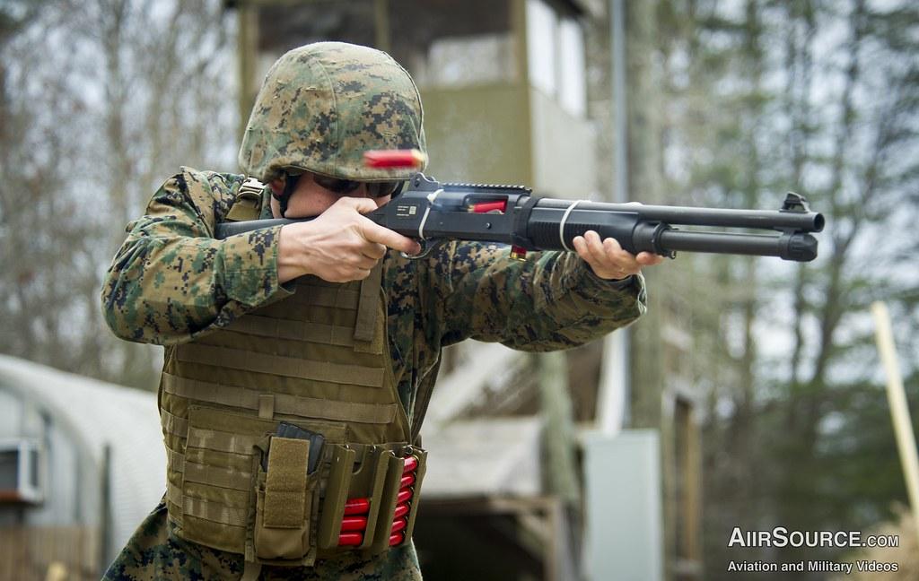 usmc shotgun blast u s marine corps sgt john browning w flickr