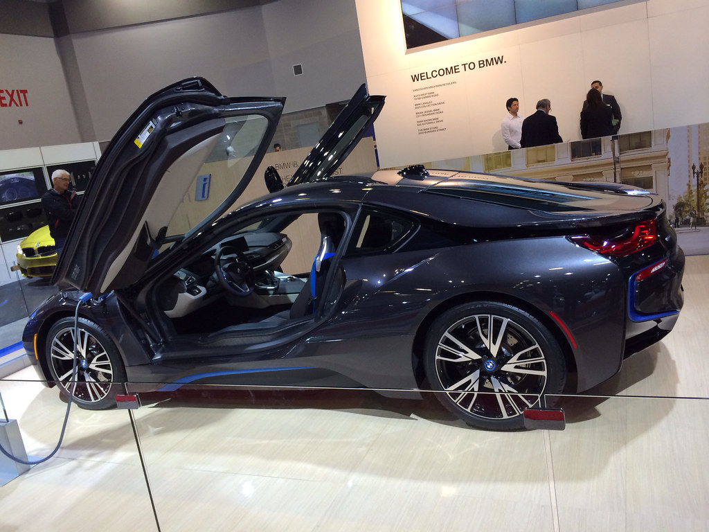 Bmw I8 Bmw I8 At Vancouver Auto Show 2014 Lowston Flickr