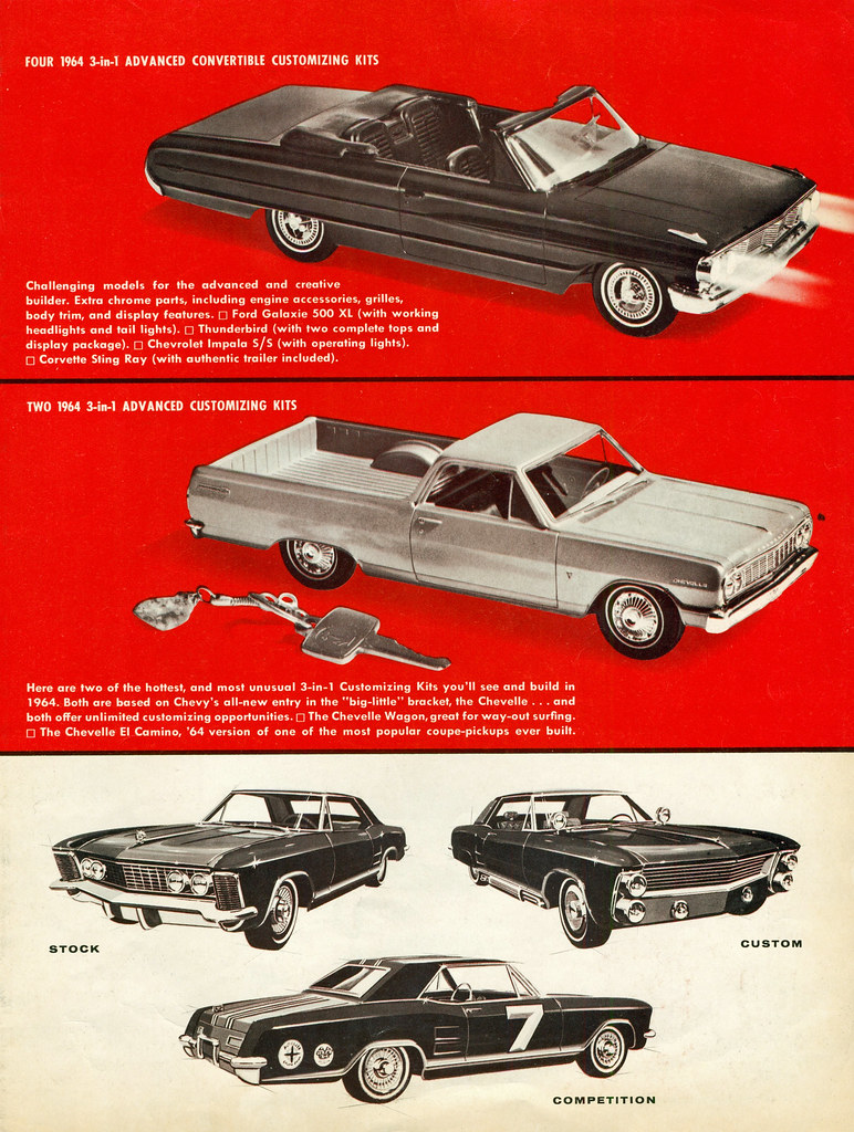1964 Amt Model Car Kits Coconv Flickr
