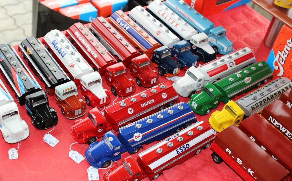 Tekno model cars for sale at the Meeting of veteran trucks… | Flickr