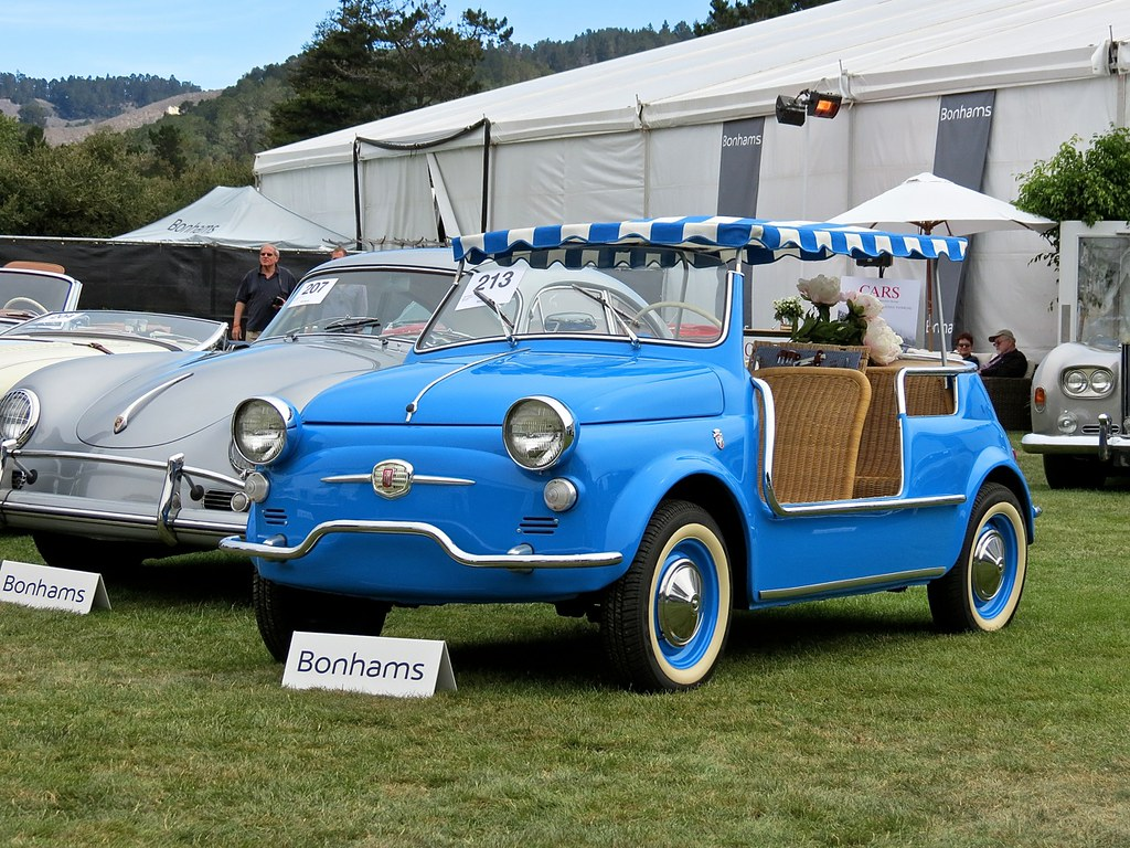 Blue Fiat Jolly 1