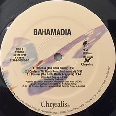BAHAMADIA:I CONFESS(REMIXES)(LABEL SIDE-B)