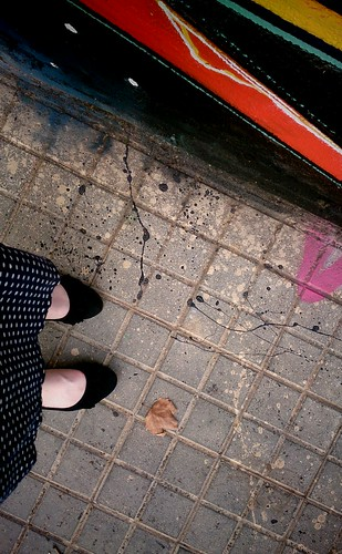 My feet are in Barcelona | by anettehustad