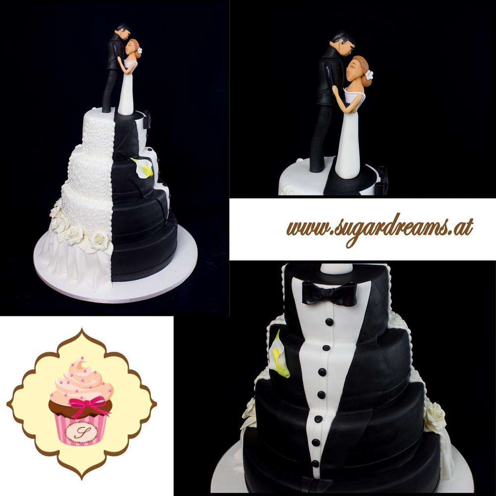 Hochzeitstorte Schwarz Weiss Martin Schuster Flickr
