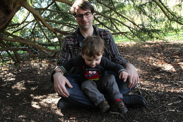 Edinburgh Botanical Gardens with kids for mothers day