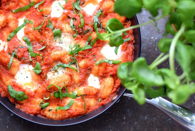 One-pan gnocchi