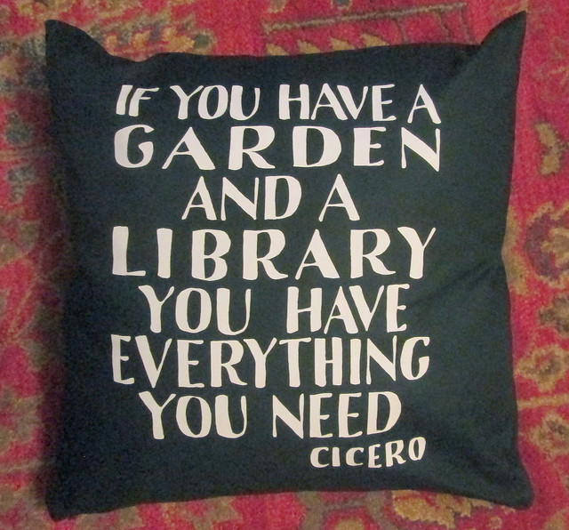 Cicero Quote Cushion