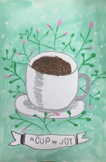 spring garden tea