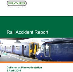 Rail Accident Report Cover