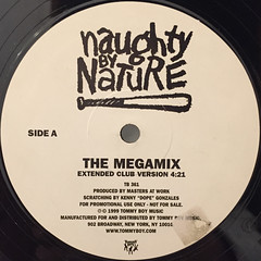 NAUGHTY BY NATURE:MEGAMIX(LABEL SIDE-A)