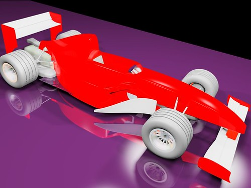 Modeled this f1 car out of red boxes | by ber.frola
