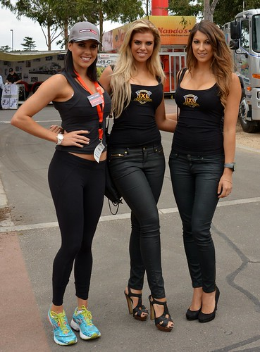 Promo Girls  Melbourne  Russell  Flickr-5731