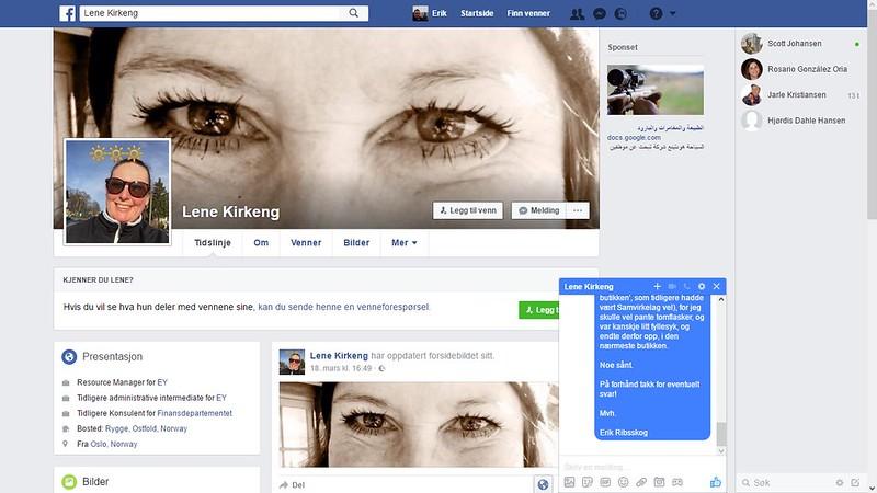 facebook lene kirkeng 1
