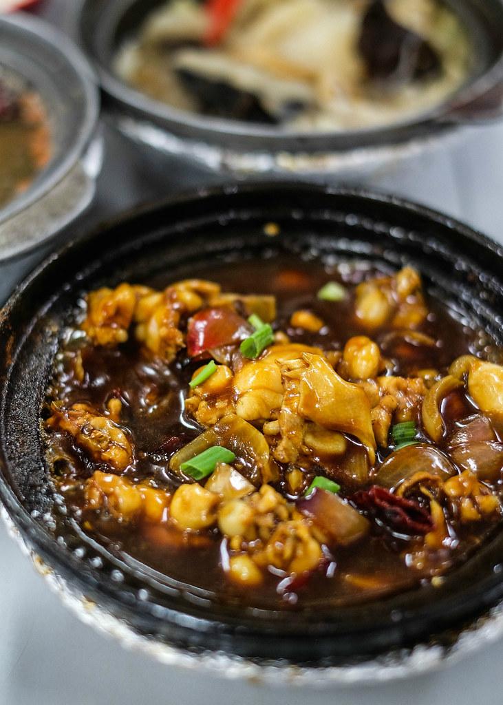 Serangoon Central Hawkers: Lau Wang Claypot Sesame Chicken