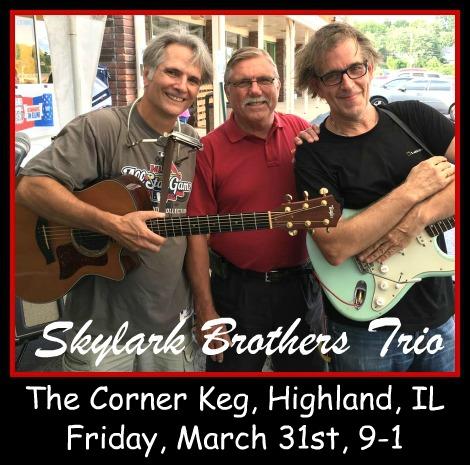 Skylark Brothers Trio 3-31-17