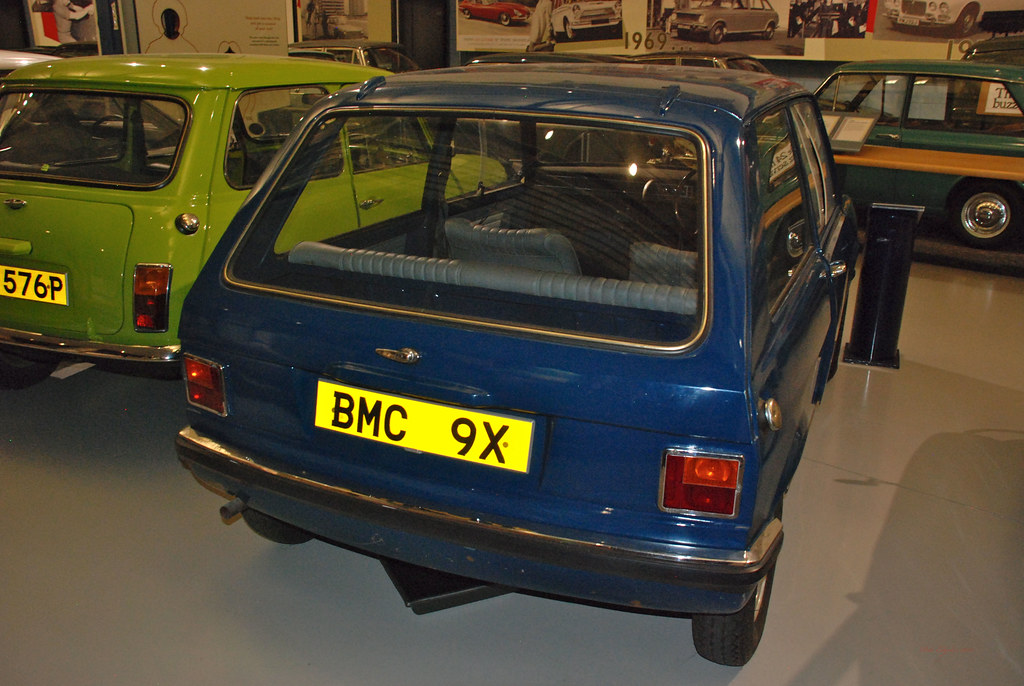1969 Mini 9x Hatchback Prototype Heritage Motor Museum Ga Flickr
