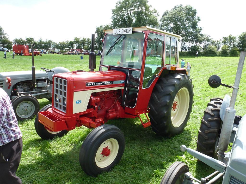 ... International Harvester 674 tractor | by K Garrett