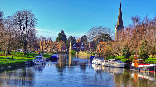 The Thames from Abingdon Bridge | by Cycling Man