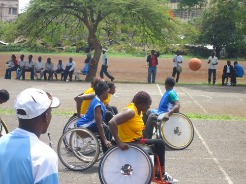 Wheelchair Basketball | by Action Network for the Disabled
