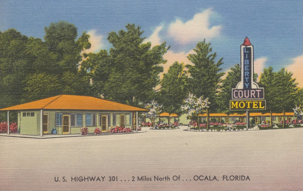 Liberty Court Motel - Ocala, Florida
