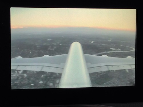London on the A380 tailcam | by Darren Foreman