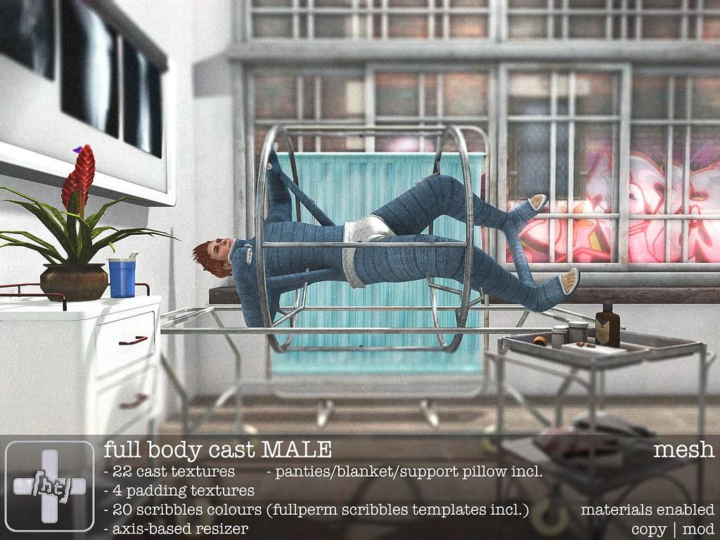 ht+] full body cast M | Male version of the [ht+] full body… | Flickr