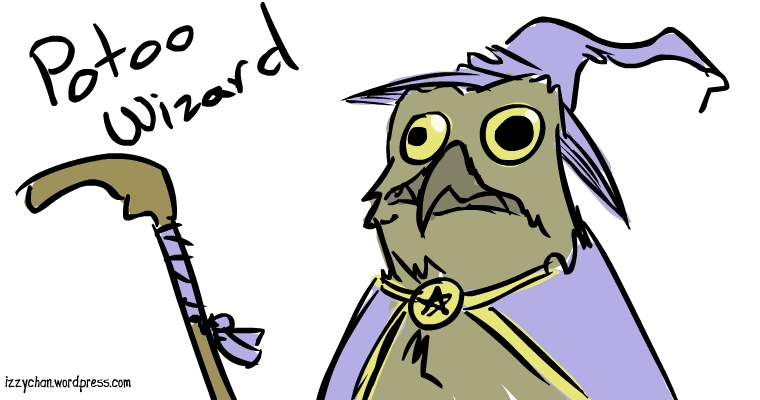 potoo bird wizard