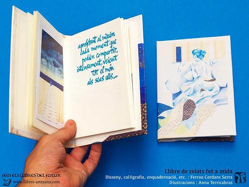 Llibre de relats fet a mida - Ferran Cerdans, Llibres Artesans 2016