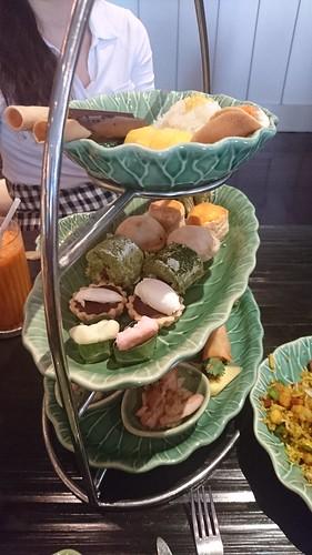 Afternoon tea at Erawan tea room