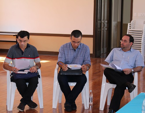 Reunião com representante das Regiões Pastorais