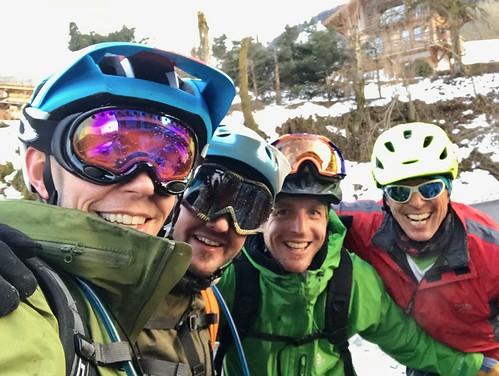 Cris, Dave, Chris and Jamie
