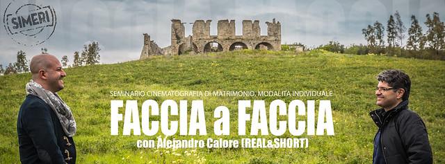 FACCIA A FACCIA con Cristian Rubino, Simeri Crichi (IT)