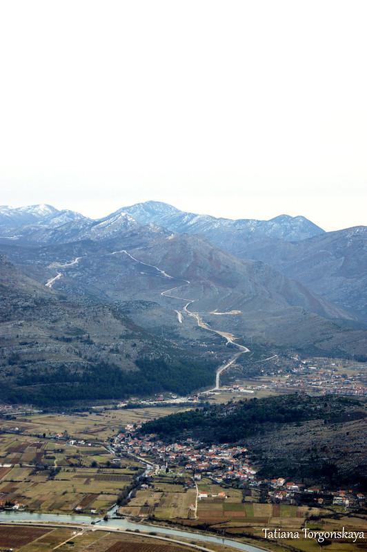 Пейзаж от крепости Кличань