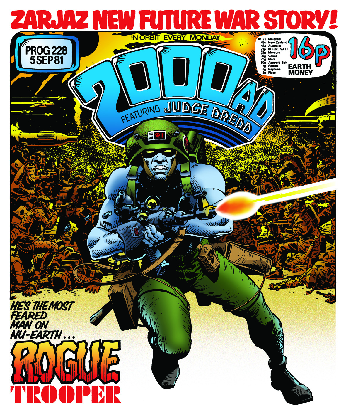 Image result for rogue trooper 2000ad