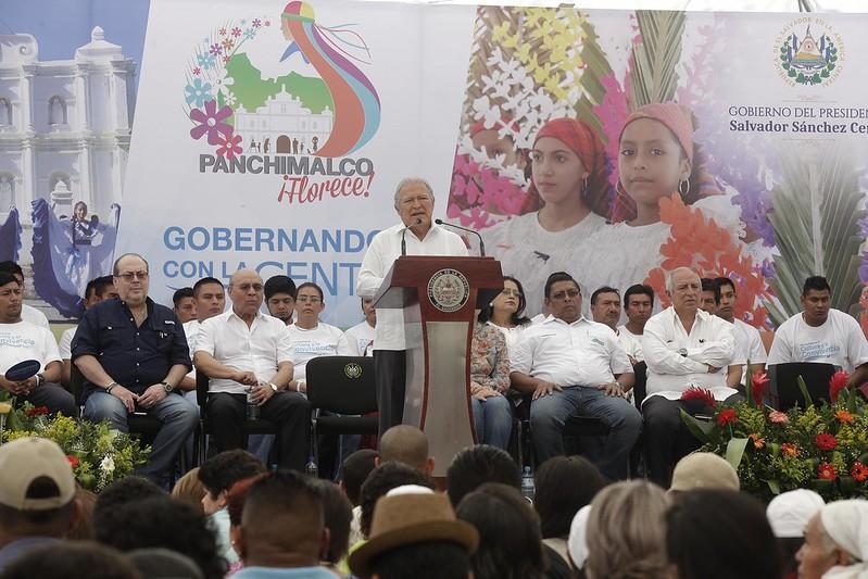 Festival para el Buen Vivir y Gobernando con la gente-Panchimalco.