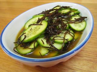 Orange-Seaweed Cucumber Salad