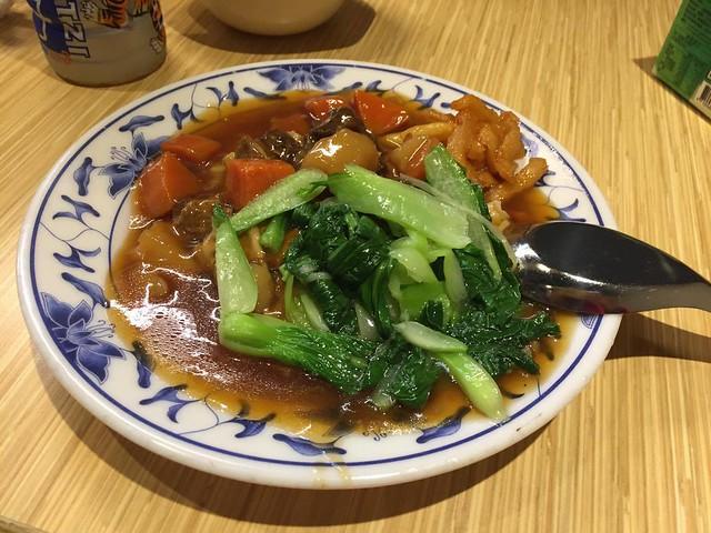 華南排骨牛腩燴飯