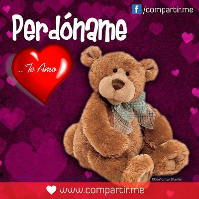 Frases De Amor Frase Pedoname Te Amo Con Osito De Peluch Flickr
