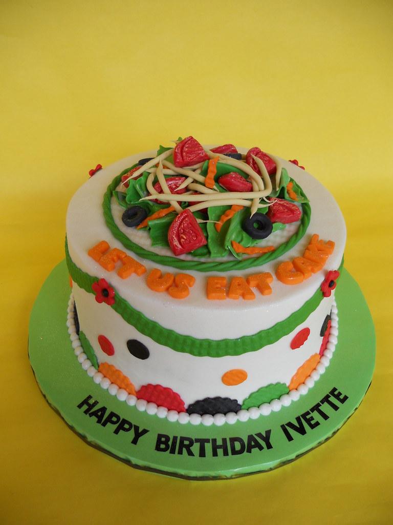 Salad Lovers Birthday Cake Amy Stella Flickr