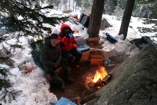 Rotary Snow Camping 2013