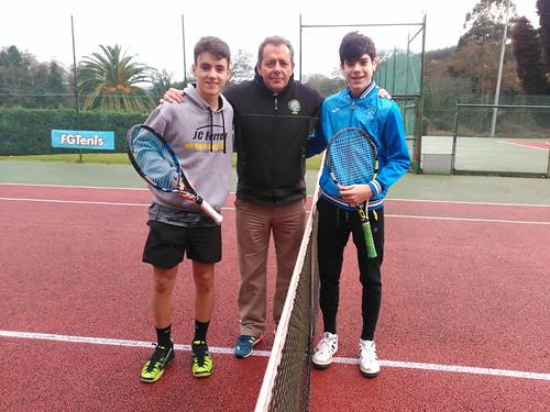 Fotos Árbitros Circuito Gallego Juvenil de Tenis Babolat 2017 - 1ª Prueba - Babolat Cup Fase Regional