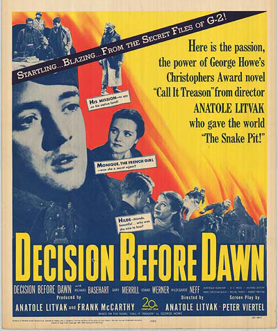 Decision Before Dawn - Poster 4