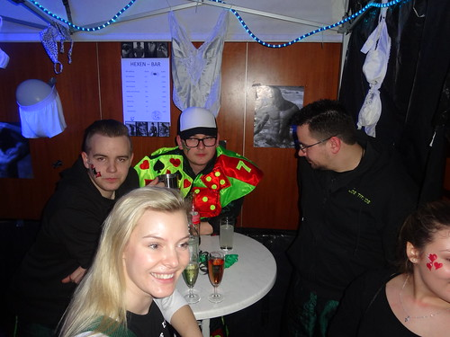 23.02.2017 - Weiberfasnet der Gagerbach-Hexen in Schwieberdingen