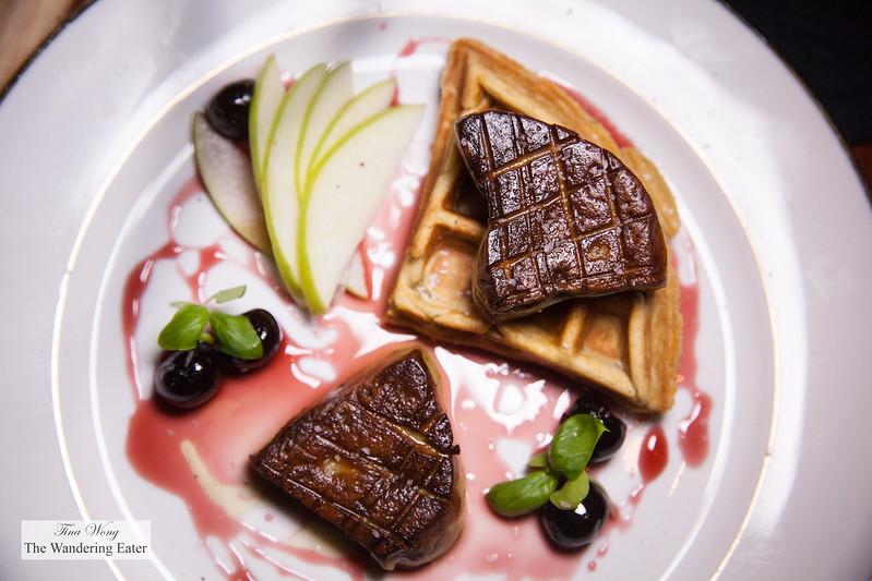 Foie gras poêle