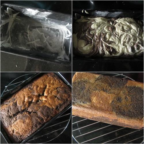 Chocolate Orange Marble Layer Cake